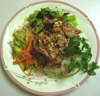Grilled Honey Lemongrass Pork