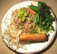 Crispy Egg Roll & Dried Shredded Pork